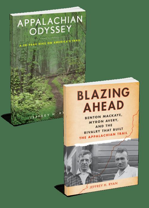 2 Book Bundle Appalachian Odyssey and Blazing Ahead