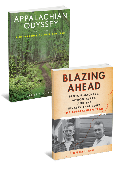 2 Book Bundle Appalachian Odyssey and Blazing Ahead