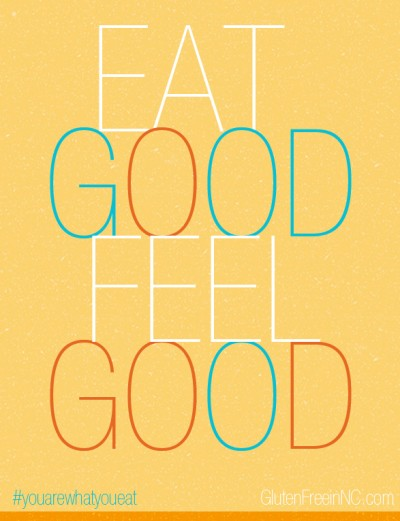 eat Good, feel Good. We Are What We Eat