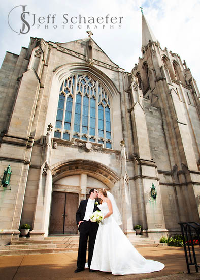 Erin and Brians St Cecilia wedding Ault Park