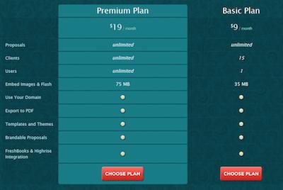 bidsketch before pricing hack