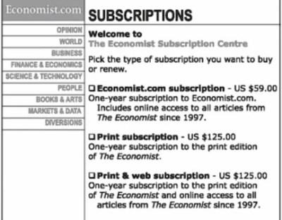 economist_decoy example dan ariely
