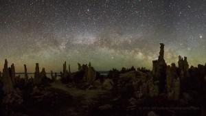 Night photography workshop at Mono Lake