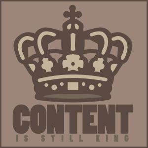 Content Is King Graphic by Jeff Turner