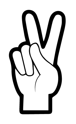 the peace sign challenge