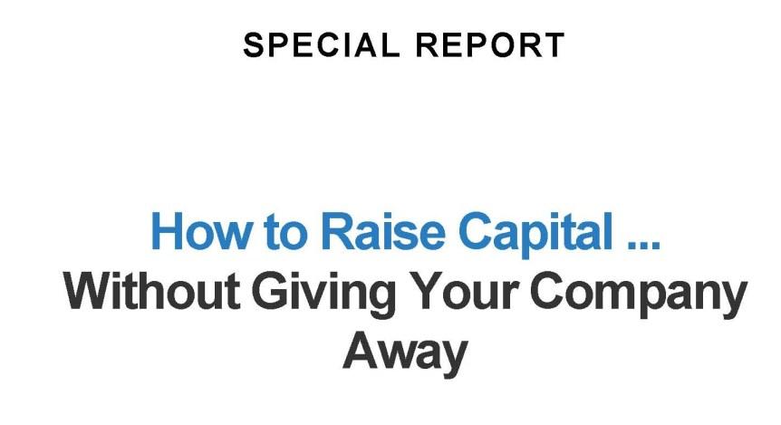 How to Raise Capital