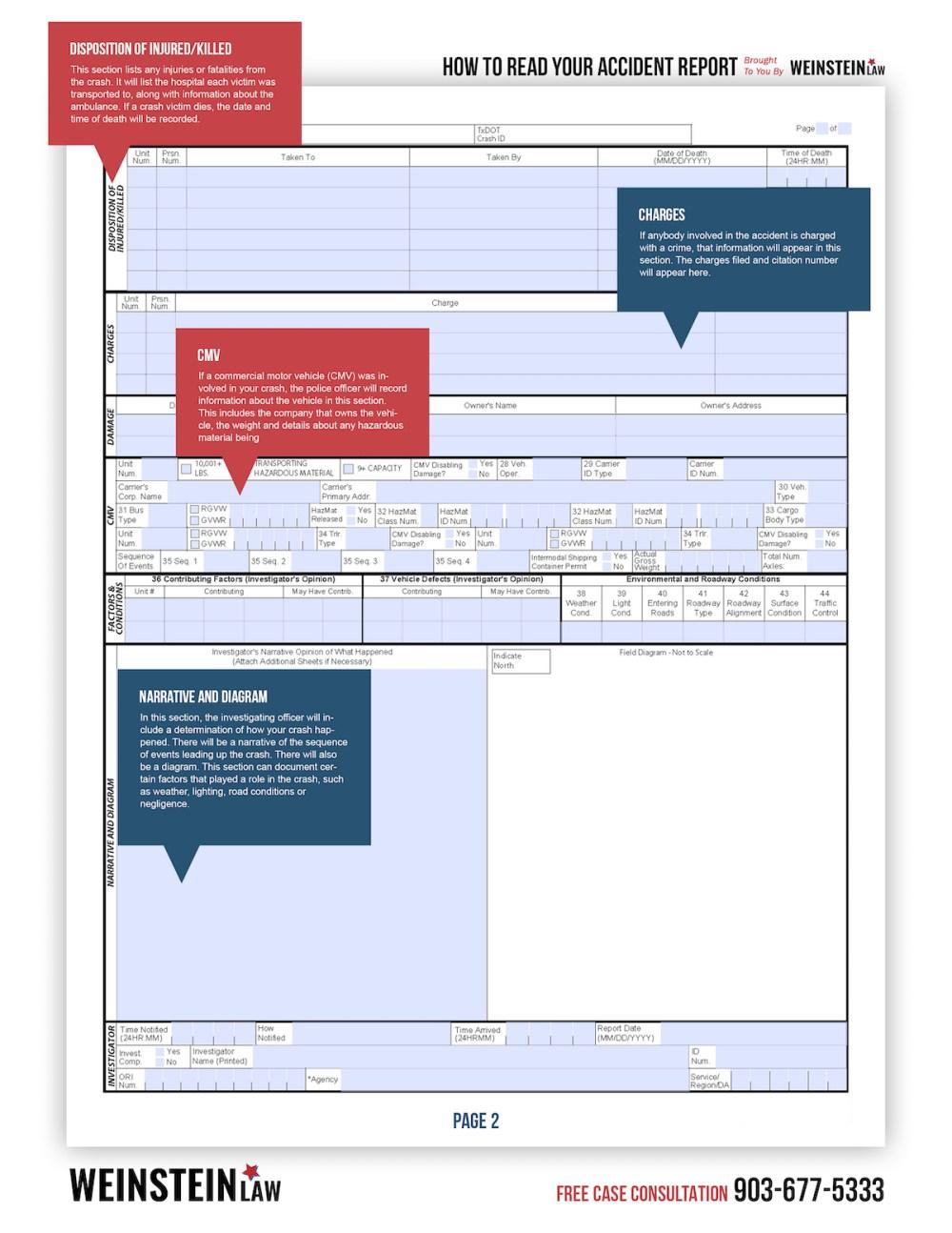 medium resolution of weinstein accident report pg 2
