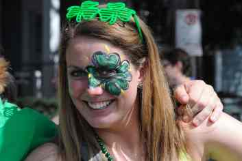 Body Paintee - St. Patricks Day in New Orleans