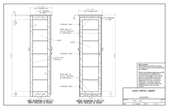 Glass Display Case Plans Free Plans DIY Free Download