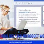 Tutorial Belajar Microsoft Word dengan Mudah