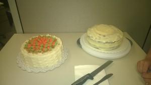 Fancy Carrot Cake Showdown