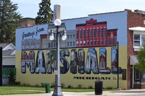 Downtown Marshall, MI (May 2018)