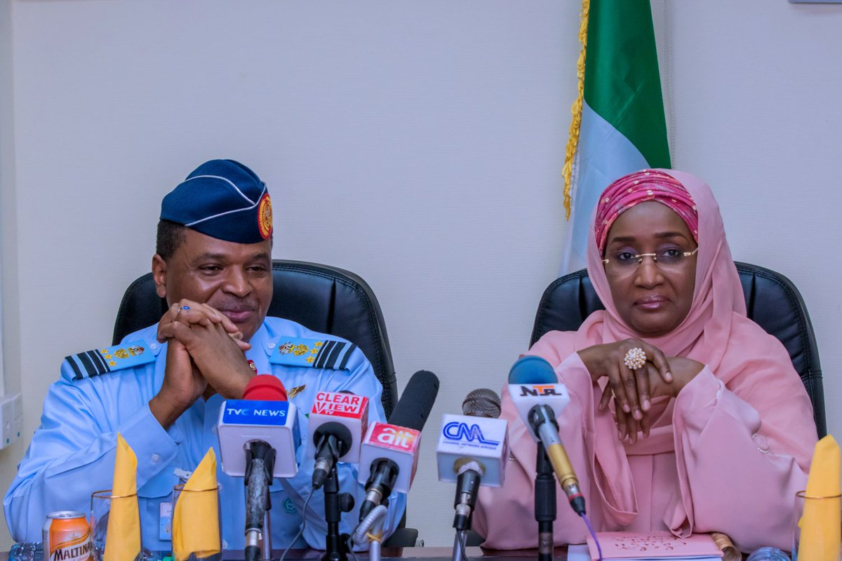 Sadiya Farouq Reportedly Marries Chief Of Air Staff, Abubakar, In Private Ceremony