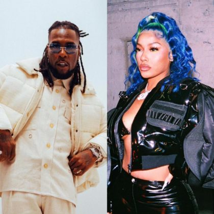 Watch Burna Boy and Stefflon Don at Dinner with Their Family