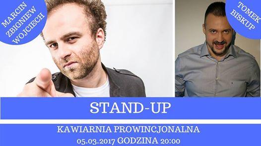 Marcin Zbigniew Wojciech Stand-up w Nowym Sączu