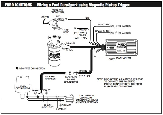 msd wiring diagram 6al one line example the for our digital using a magnetic pickup and msd's blaster ss coil.
