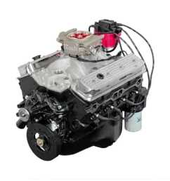 atk engines hp32c high performance crate engine small block chevy 1977 chevy small block motor wiring [ 1500 x 1482 Pixel ]