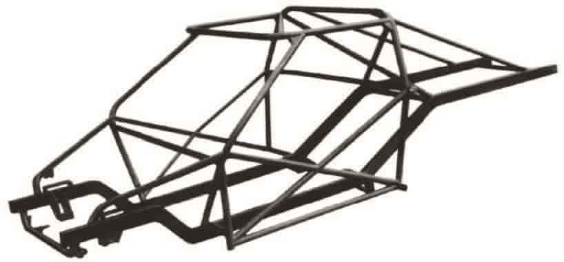 Alston Race Cars AL-101860: Pro-Link Chassis Round Tube