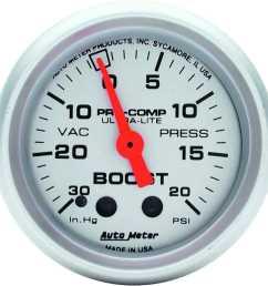 auto meter 4301 ultra lite vacuum boost gauge 2 1 16 mechanical jegs auto meter boost wire harness [ 1500 x 1500 Pixel ]