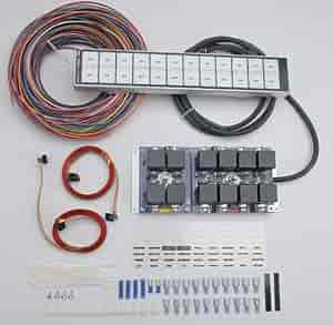 ARC  Auto Rod Controls 12000R: 12 Switch Flat Touch Control Panel   JEGS