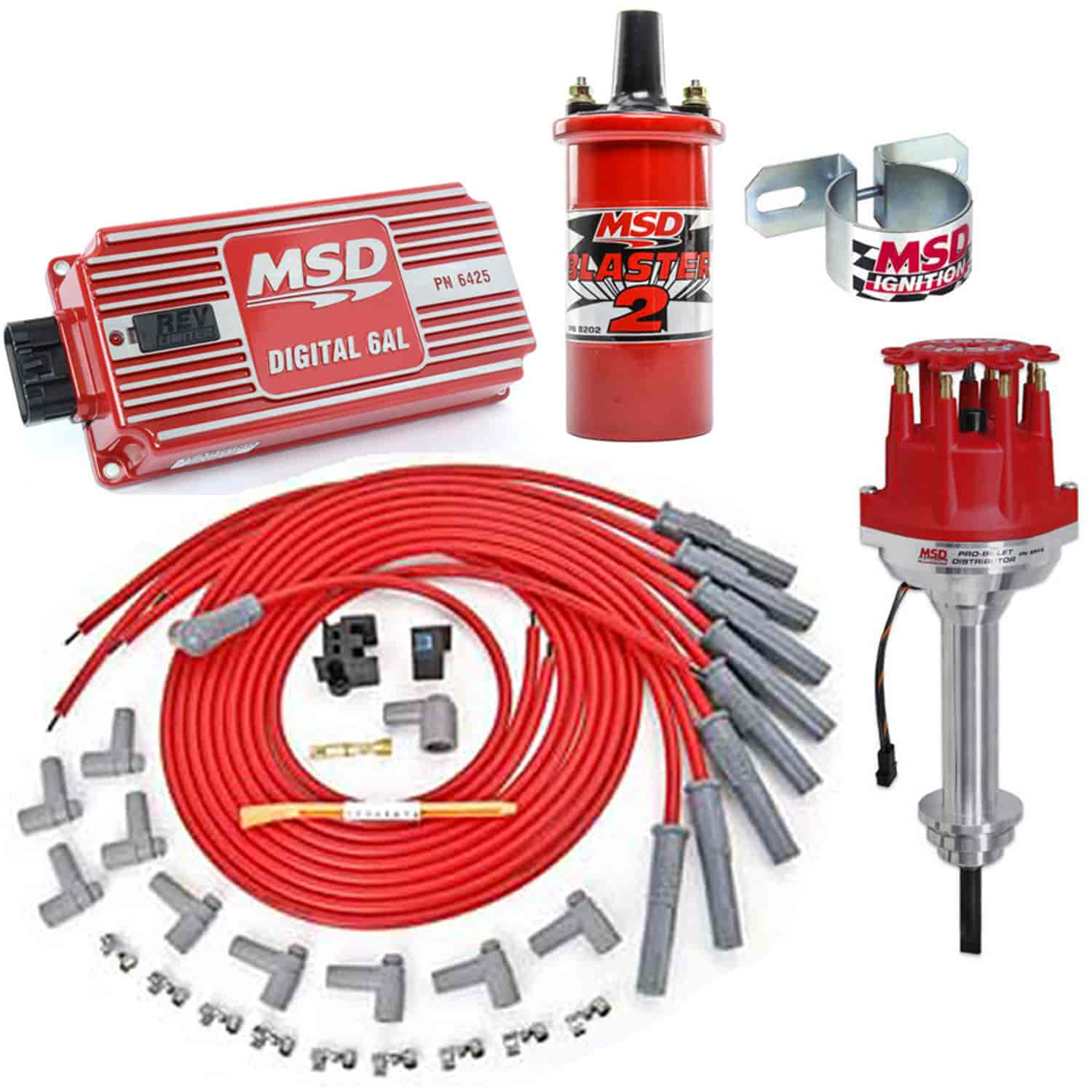 hight resolution of msd ignition 8546k ignition kit chrysler 426 440 jegs msd wiring harness chrysler