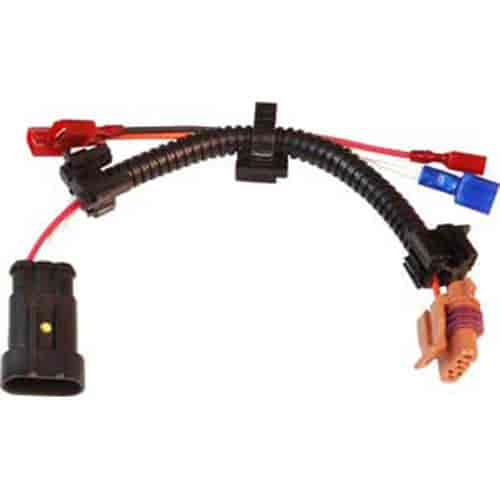 msd 6al wiring diagram lt1 printable blank volleyball court ignition 8877 plug in harness to gm single