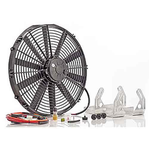 Be Cool Radiators 95002 Single 16'' High Torque Fan Module