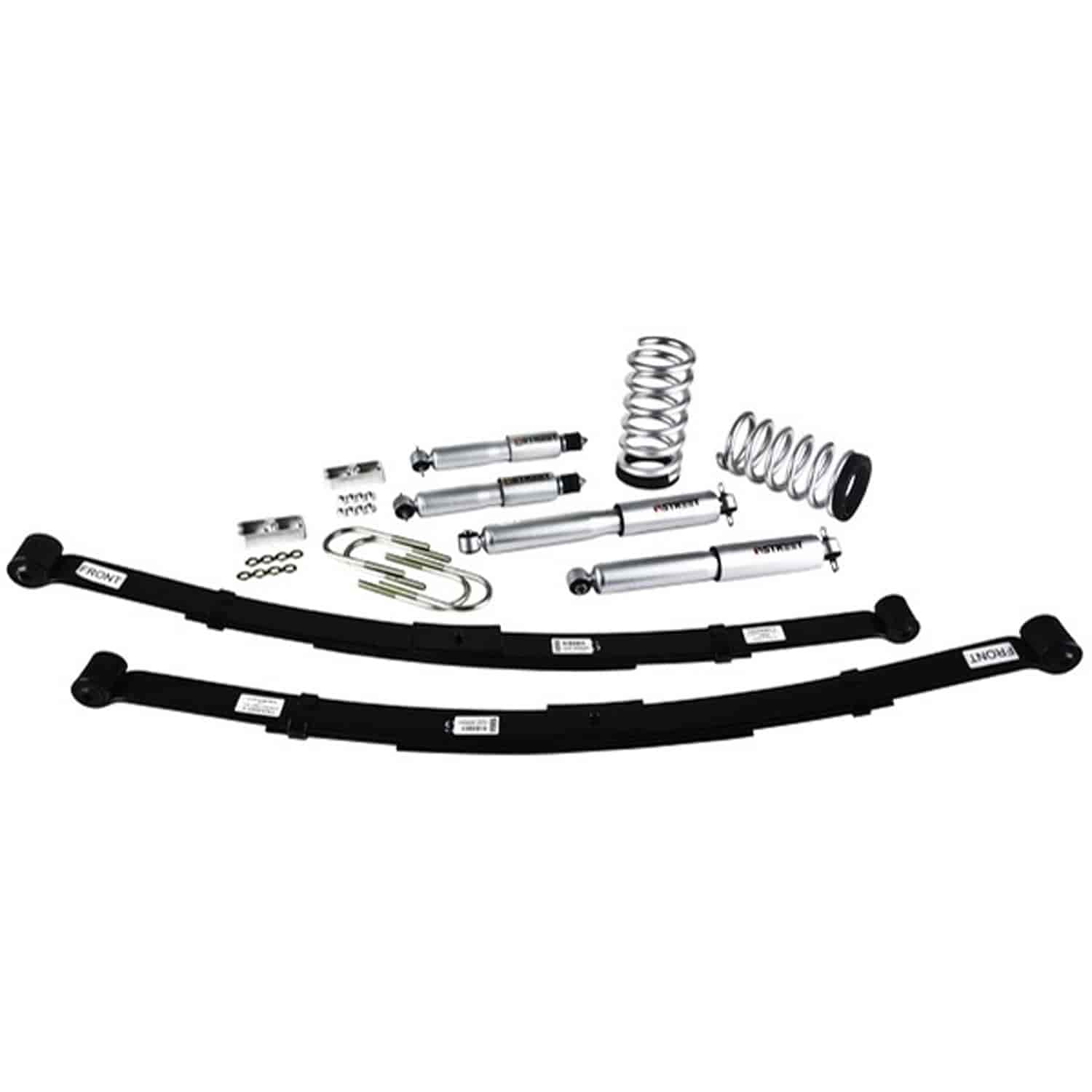 Belltech 570sp Complete Lowering Kit For Chevy