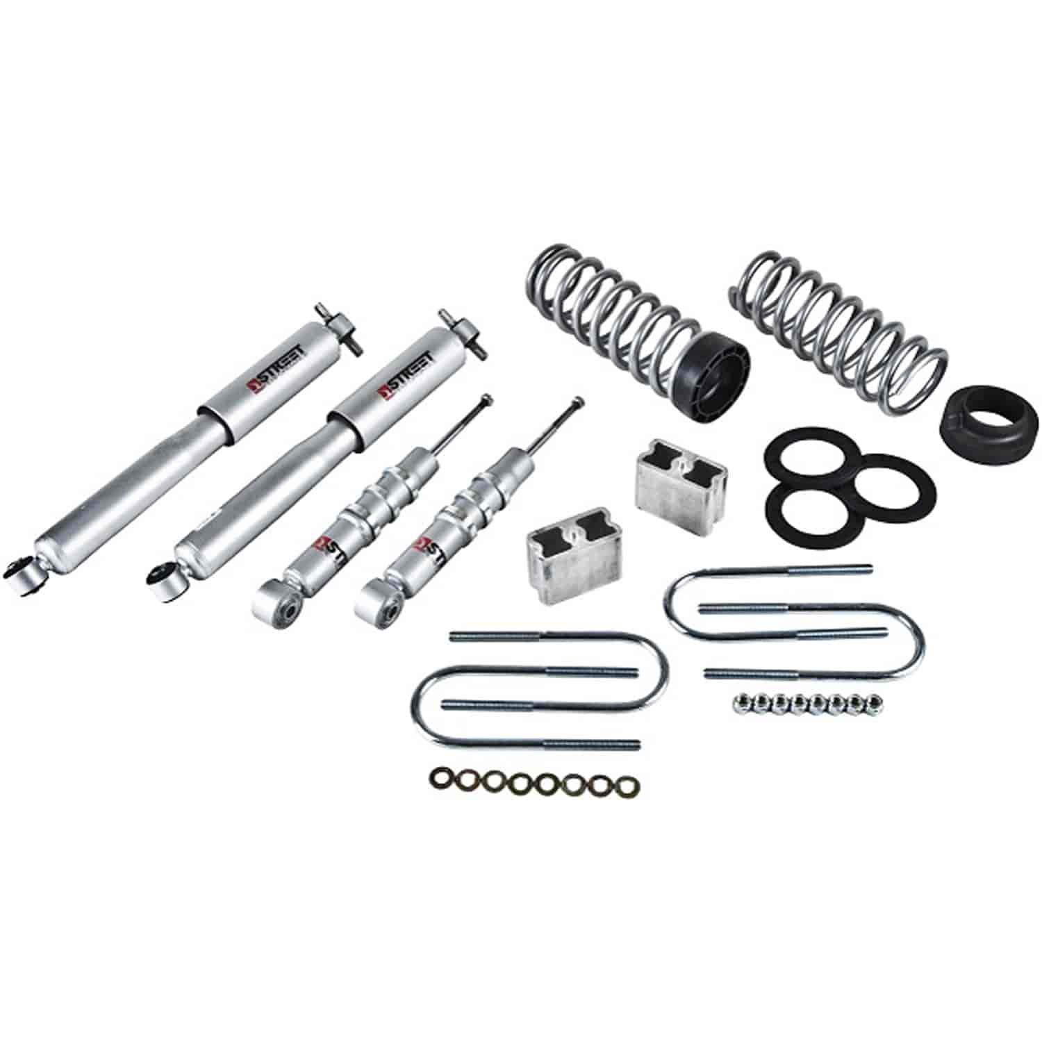Belltech 602SP: Complete Lowering Kit for 2004-2012 Chevy