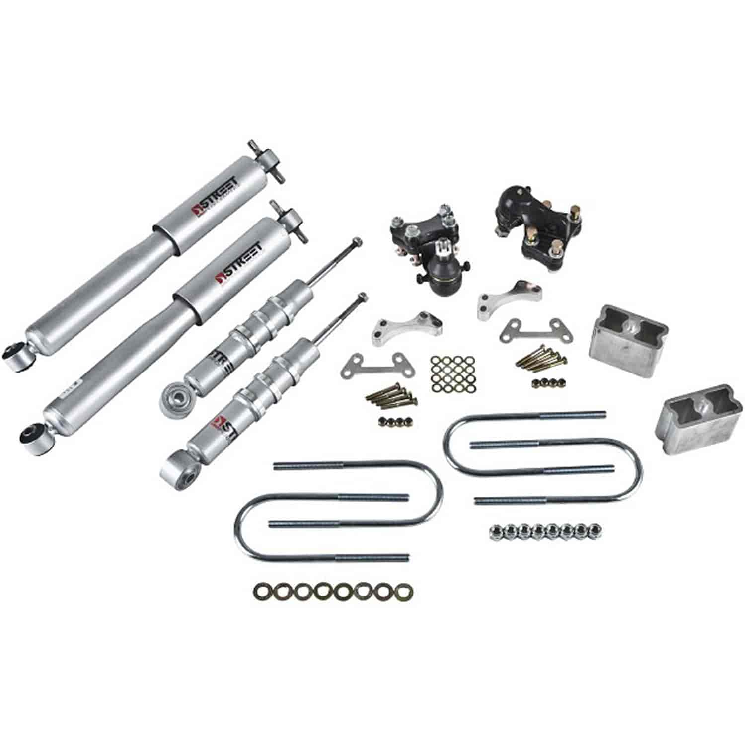 Belltech 603SP: Complete Lowering Kit for 2004-2012 Chevy