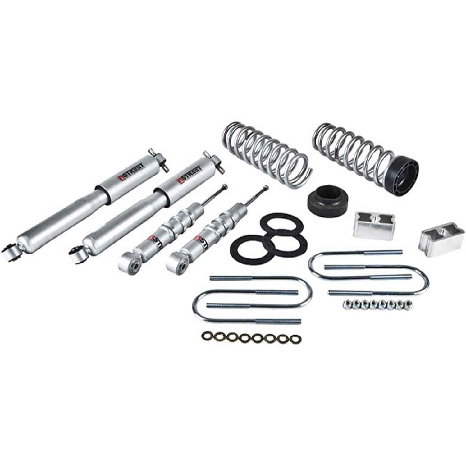 Belltech 607SP: Complete Lowering Kit for 2004-2012 Chevy