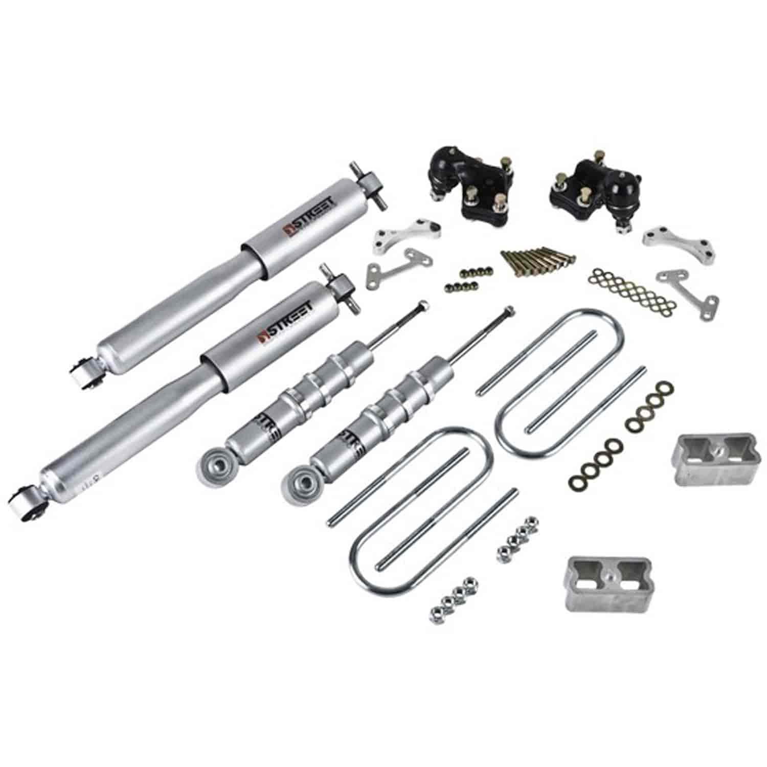 Belltech 611SP: Complete Lowering Kit for 2004-2012 Chevy