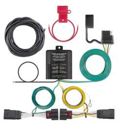 curt trailer hitch wiring kit for 2018 jeep wrangler jl curt 56407 [ 1500 x 1500 Pixel ]