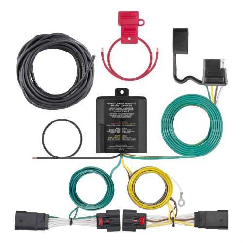 small resolution of curt trailer hitch wiring kit for 2018 jeep wrangler jl curt 56407