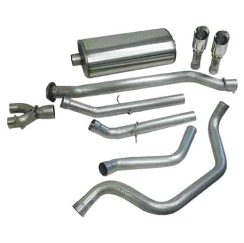 Corsa 14273: Sport Cat-Back Exhaust System 1999-2006 Chevy