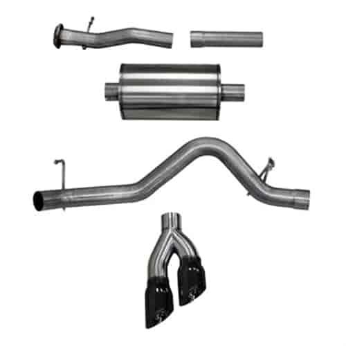 Corsa 14745BLK: Sport Cat-Back Exhaust System 2017-2018