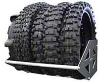 RB Components 2352: Motorcycle Tire Rack 48"