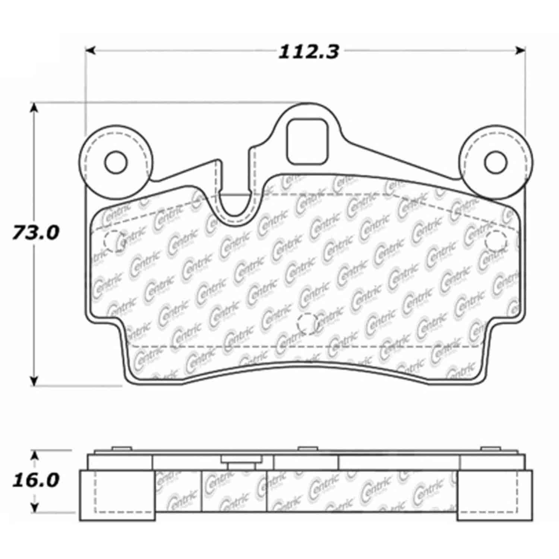 StopTech 104-09780 PosiQuiet Semi Met Pads 2003-2015 Audi