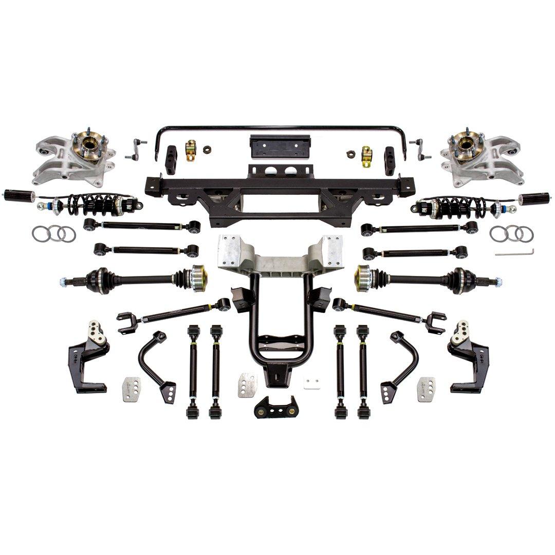 Detroit Speed 041742-SR: DECAlink Independent Rear