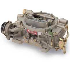 Edelbrock Electric Choke Wiring Diagram Runva Winch Solenoid 1409 Marine 600 Cfm Carburetor W Jegs
