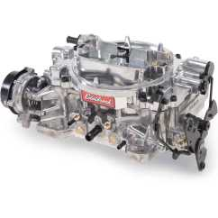 Edelbrock Electric Choke Wiring Diagram 2008 Ford Econoline Radio 1801 Thunder Series Avs 500 Cfm Carburetor With