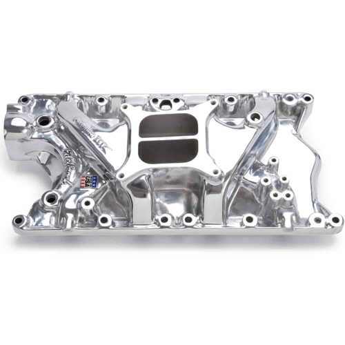 small resolution of edelbrock 21811 performer 351w ford intake manifold polished jegs edelbrock 21811 1988 f350 5 8l intake manifold wiring harness