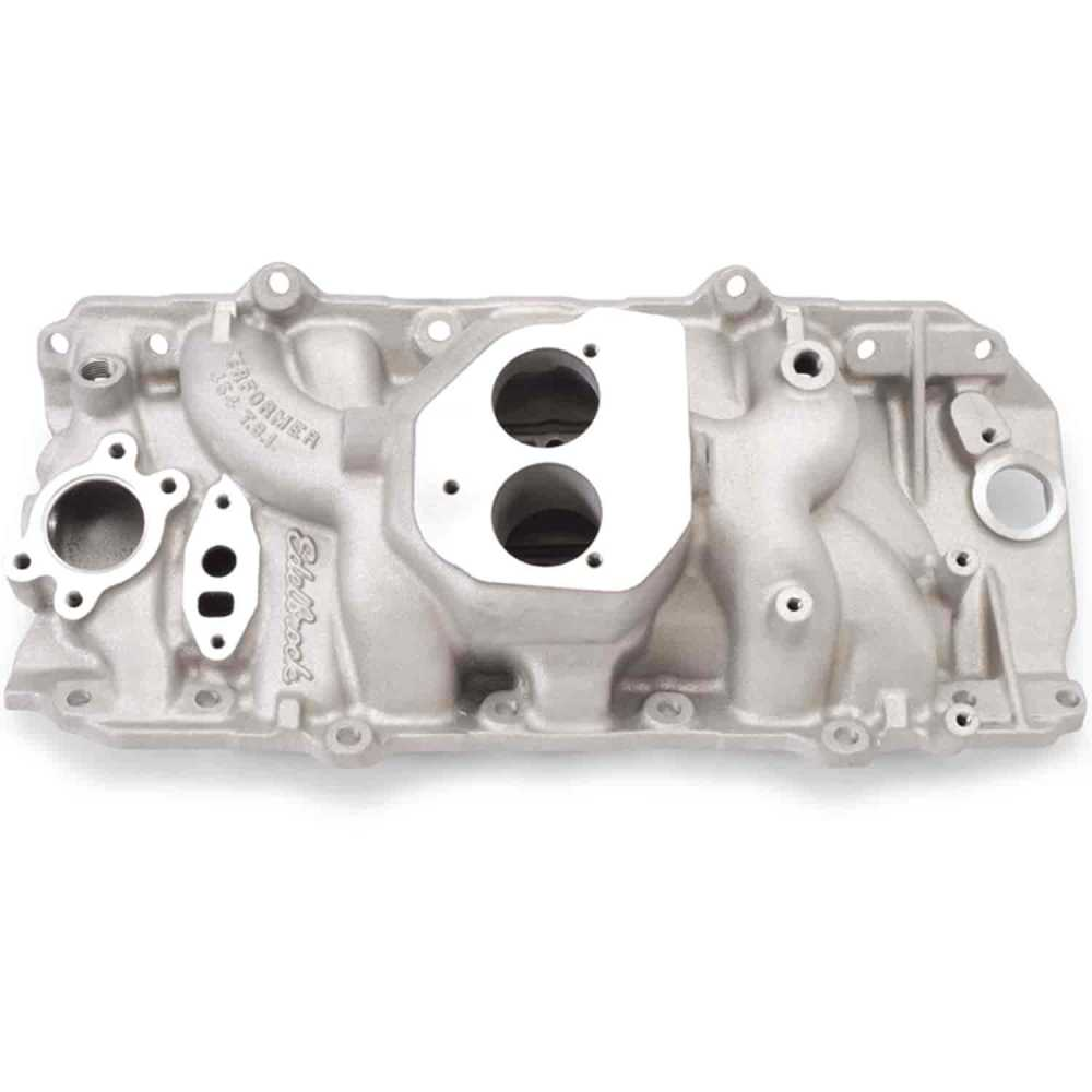 medium resolution of edelbrock performer 454 t b i big block chevy intake manifold