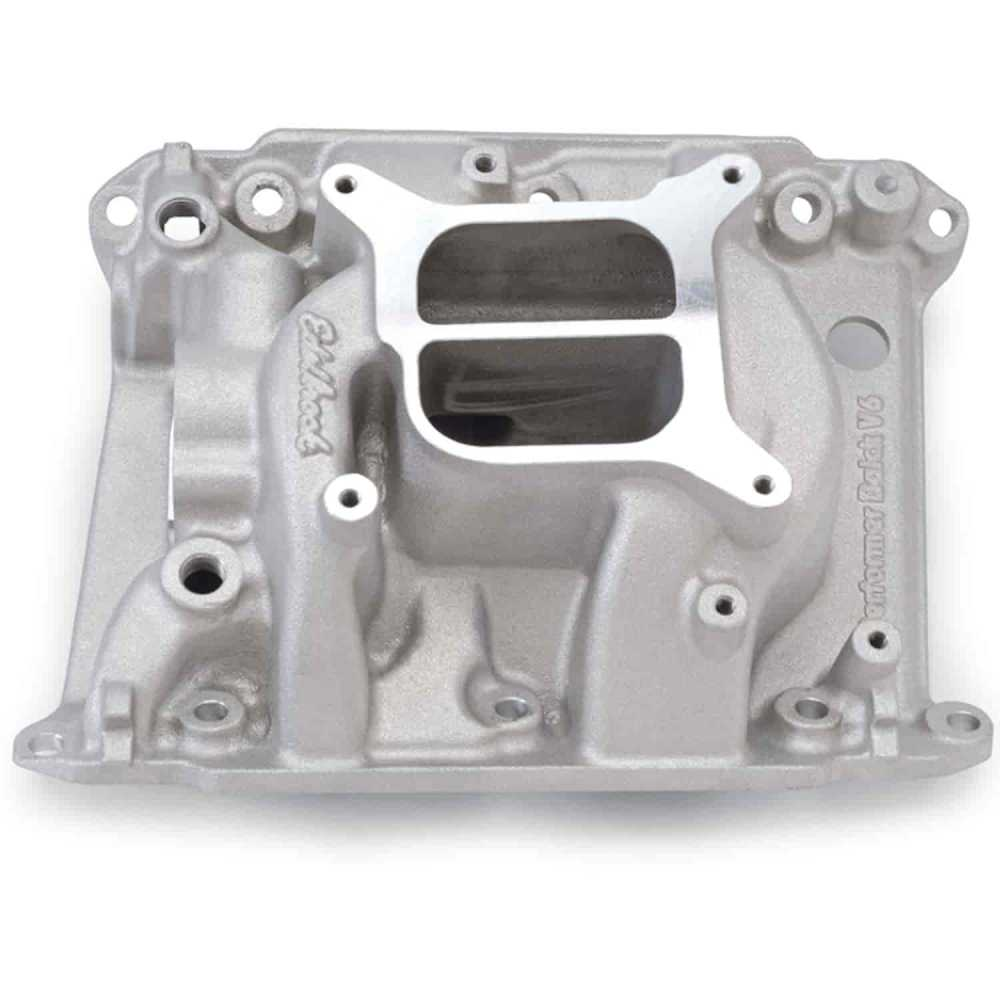 medium resolution of edelbrock performer buick v6 intake manifold
