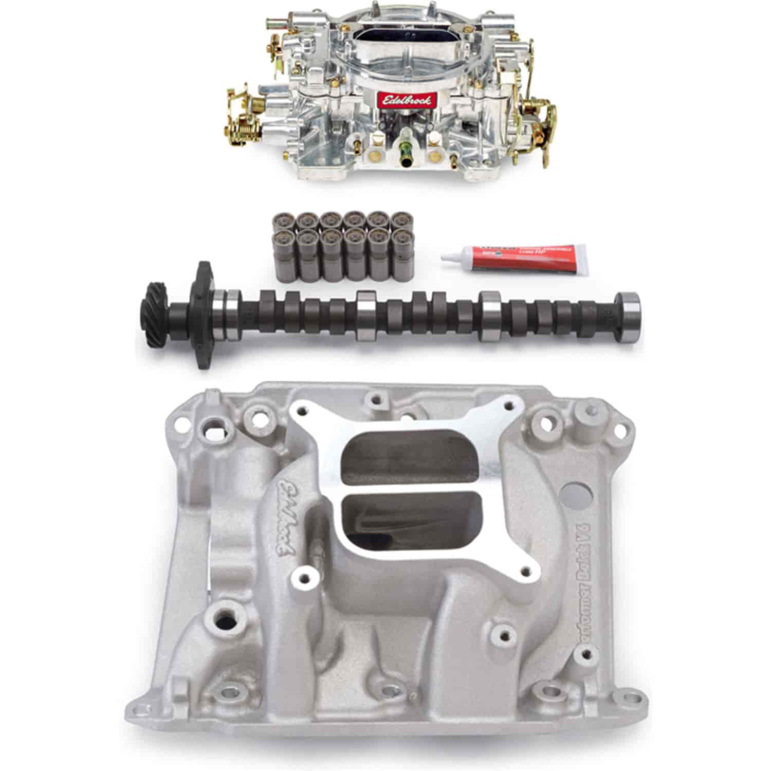 hight resolution of edelbrock buick v6 performer power package edelbrock 5486pk