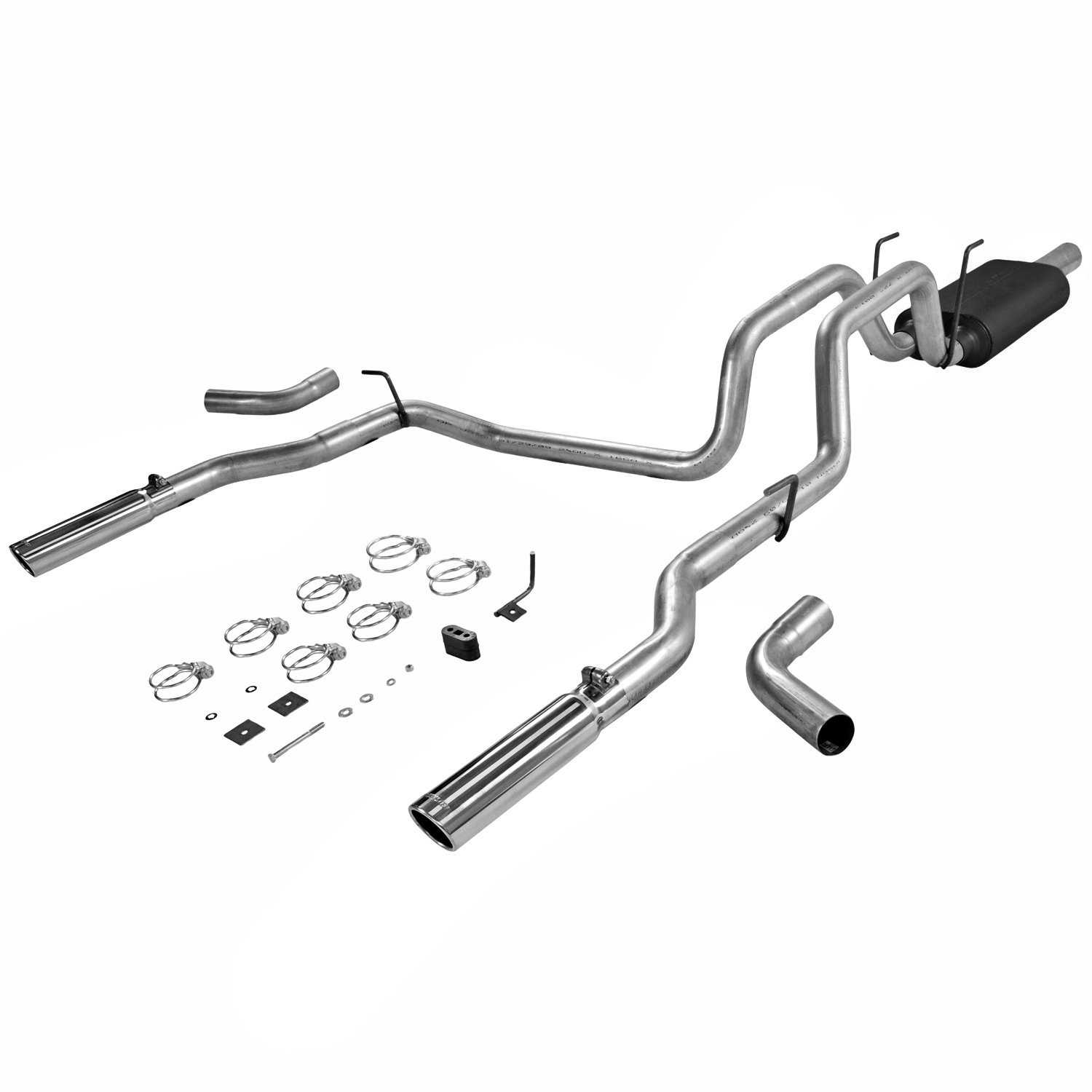 Flowmaster 17424: American Thunder Cat-Back Exhaust System