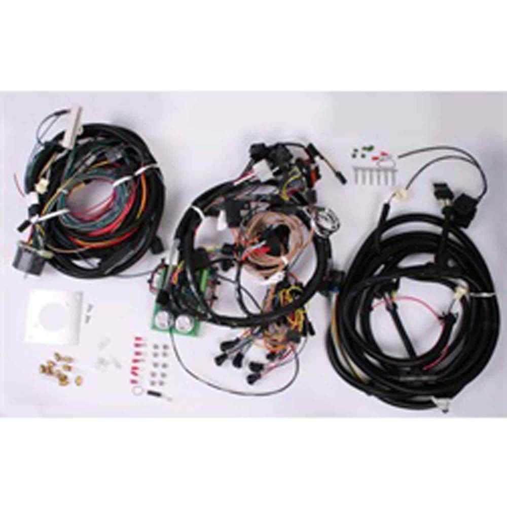 medium resolution of omix ada centech heavy duty wiring harness 1976 1986 jeep cj by omix