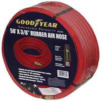 Goodyear Air Hose 12674: Red Rubber Air Hose 3/8""
