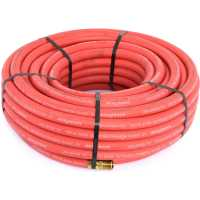 Goodyear Air Hose 12732: Red Rubber Air Hose 3/8""
