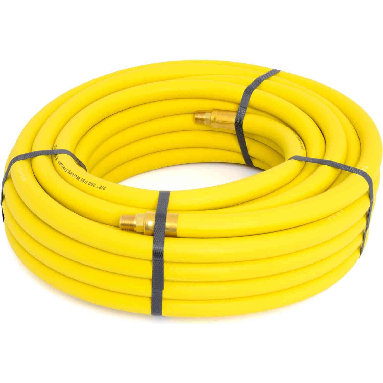 """Goodyear Air Hose 12912: Yellow Rubber Air Hose 3/8"""""""